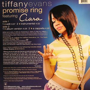 Tiffany Evans Feat Ciara Promise Ring Vinyl At Juno Records