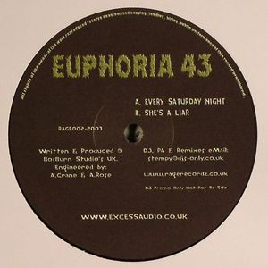 EUPHORIA 43 - Every Saturday Night