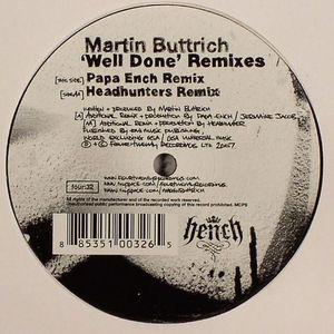 BUTTRICH, Martin - Well Done (remixes)