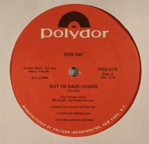 RAY, Don - Got To Have Loving