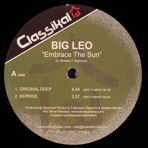BIG LEO - Embrace The Sun
