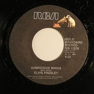 PRESLEY, Elvis - Suspicious Minds
