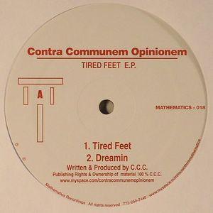 CONTRA COMMUNEM OPINIONEM - Tired Feet EP