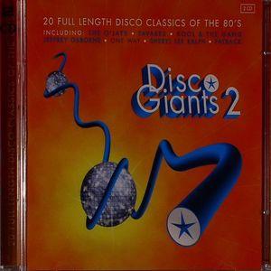 VARIOUS - Disco Giants Volume 2: 20 Full Length Disco Classics Of The 80's