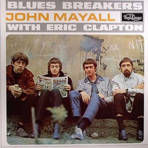 MAYALL, John & THE BLUES BREAKERS with ERIC CLAPTON - Blues Breakers