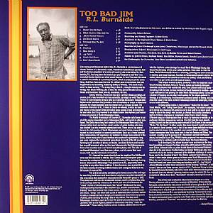 BURNSIDE, RL - Too Bad Jim