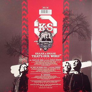 KRAAK & SMAAK - That's Our Word EP