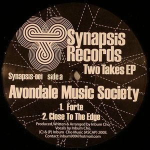 AVONDALE MUSIC SOCIETY - Two Takes EP