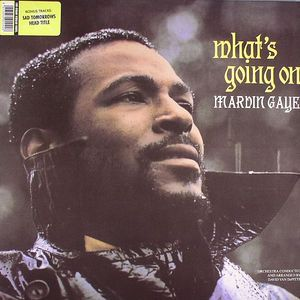 GAYE, Marvin - What's Going On (reissue with 3 bonus tracks)