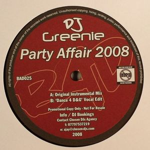 DJ GREENIE - Party Affair 2008