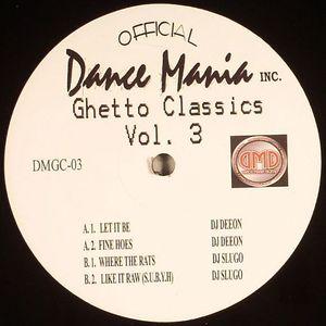 DEEON/SLUGO - Ghetto Classics Vol 3