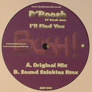 D'BOOSH feat SARAH JANE - I'll Find You