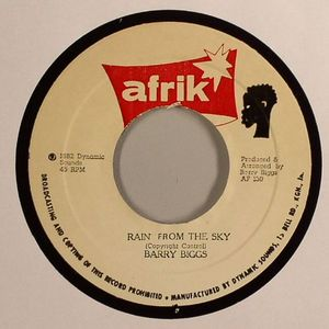 BIGGS, Barry/AFRIK ALL STARS - Rain From The Sky