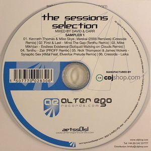 DAVID & CARR/KENNETH THOMAS/MIKE SKYE/FIRST & LAST/MIKE MIKHJIAN/NICK THOMPSON/JAMES VICKERS/CRESSIDA - The Sessions Selection Sampler 1