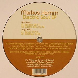 HOMM, Markus - Electric Soul EP