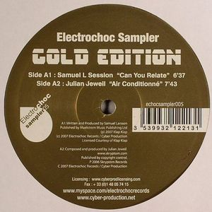 SAMUEL L SESSION/JULIAN JEWEIL/VEERUS & MAXIE DEVINE/GINO'S & SNAKE - Electrochoc Sampler: Cold Edition