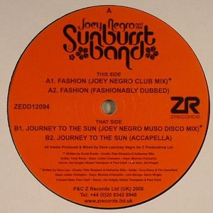 NEGRO, Joey/THE SUNBURST BAND - Fashion
