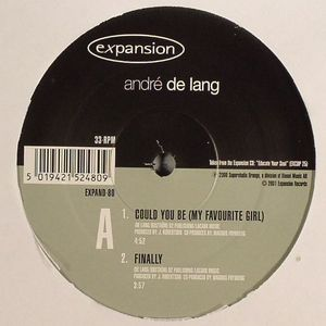 DE LANG, Andre - Could You Be (My Favourite Girl)
