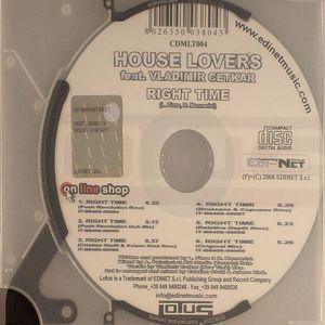 HOUSE LOVERS feat VLADIMIR CEKTAR - Right Time