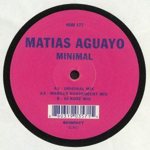 AGUAYO, Matias - Minimal