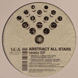 ARKUS P/FRANK KVITTA/BORIS S/WITTEKIND/KAOZ - Absract All Stars Remix EP