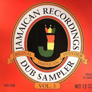 VARIOUS - Jamaican Recordings Dub Sampler Vol 3 (Original Jamaican 1970s Dub)