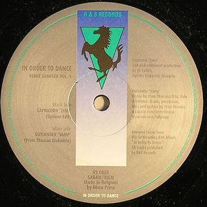 CAPRICORN/OUTLANDER - In Order To Dance Remix Sampler Vol 1