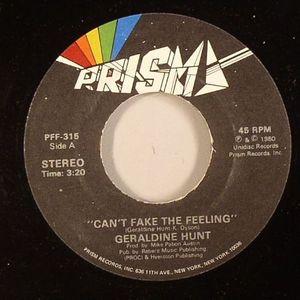 HUNT, Geraldine - Can't Fake The Feeling