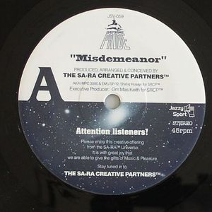 SA RA CREATIVE PARTNERS, The/BUDAMUNKY - Misdemeanor