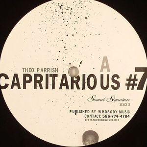 PARRISH, Theo - Capritarious #7/Levels