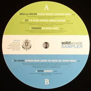 DIPLO feat RYE RYE/ZZT/CROOKERS/DR KUCHO!/POPOF - Solid Sounds Sampler