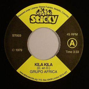 GRUPO AFRICA/BLACK PEPPER - Kila Kila
