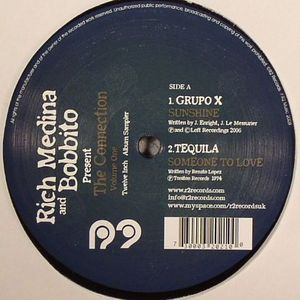 MEDINA, Rich/BOBBITO present GRUPO X/TEQUILA/FRANCK BIYONG/THE AFRILECTRIC ORKESTRA/SIR VECTOR UWAIFO & HIS MELODY MAETROES - The Connection Volume One Sampler