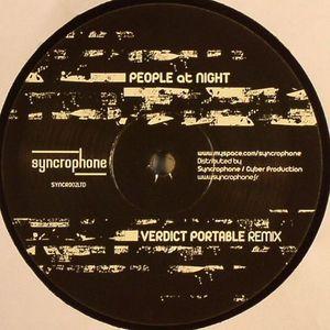 PEOPLE AT NIGHT - Verdict Portable (remix)