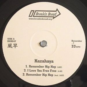 KAZAHAYA - Remember Hip Hop EP