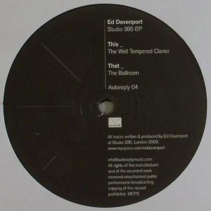 DAVENPORT, Ed - Studio 395 EP
