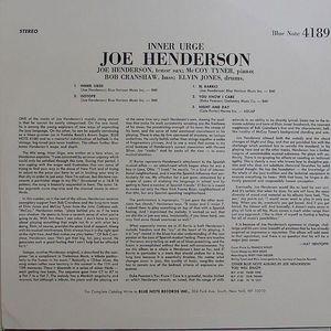 HENDERSON, Joe - Inner Urge