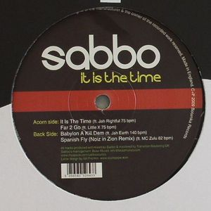 SABBO - It Is The Time