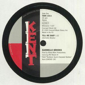 BROOKS, Karmello/CARLA THOMAS - Tell Me Baby