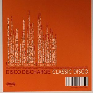 VARIOUS - Disco Discharge: Classic Disco