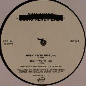 SAN SERAC - Music Never Ends (Morgan Geist remix)