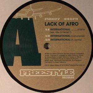 LACK OF AFRO - International