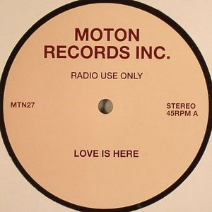 MOTON RECORDS INC - Love Is Here