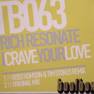 RICH RESONATE - I Crave Your Love