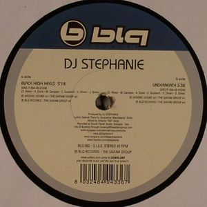 DJ STEPHANIE - Black High Heels
