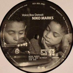 MARKS, Niko - Voice Box Detroit EP