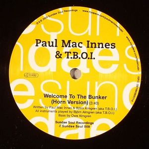MAC INNES, Paul/TBOI - Welcome To The Bunker