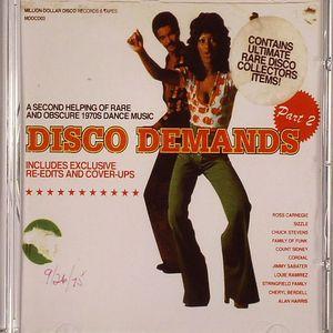 KENT, Al/VARIOUS - Disco Demands Part 2: A Second Helping Of Rare & Obscure 1970s Dance Music