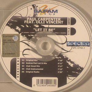 CARPENTER, Paul feat OLLI VINCENT - Let It Be