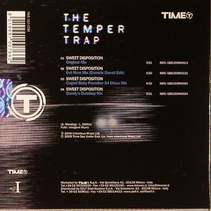The Temper Trap Sweet Disposition Vinyl At Juno Records